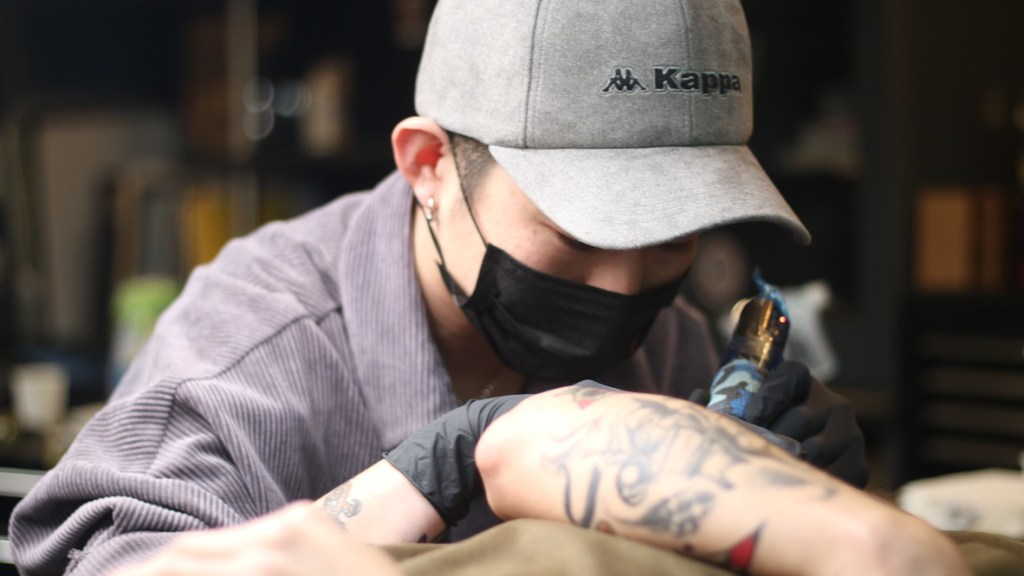 SACRED CARTEL TATTOO STUDIO 「GENTAさん」